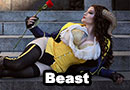 Beast from Beauty and the Beast Cosplay