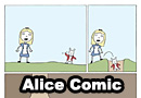 The Real Life Story of Alice in Wonderland Comic