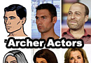 The Models and Voice Actors for the Archer Characters