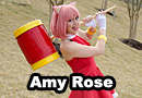 Amy Rose from Sonic the Hedgehog Cosplay