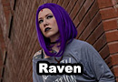 Modern Raven from Teen Titans Cosplay