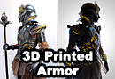 Epic Medieval Inspired 3D Printed Women