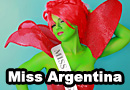 Miss Argentina from Beetlejuice Cosplay