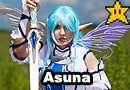 Undine Asuna from Sword Art Online Cosplay