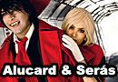 Alucard and Seras Victoria from Hellsing Cosplay