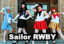 Sailor Moon RWBY Crossover Cosplay