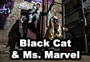 Marvel Magic - Black Cat & Ms. Marvel Cosplay