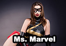 Ms. Marvel Liquid Latex Cosplay