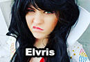 Elviris - Elvis x Elvira Mashup Cosplay
