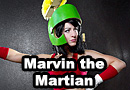 Genderbent Marvin the Martian Cosplay