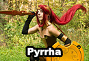 Pyrrha Nikos from RWBY Cosplay