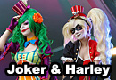 Lady Joker & Harley Quinn Cosplay