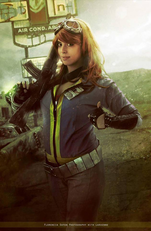 Vault Dweller from Fallout 4 Cosplay