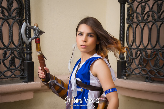Female Connor Kenway from Assassin