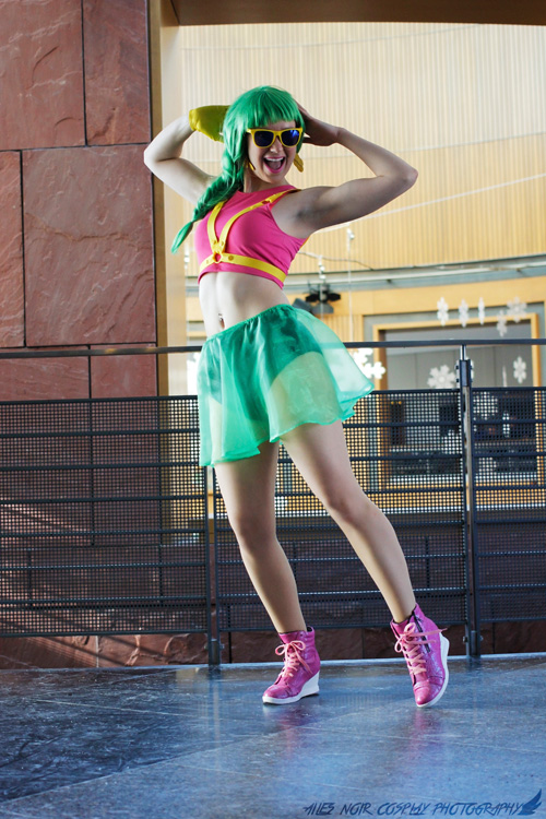 Summer Coach from Just Dance Cosplay