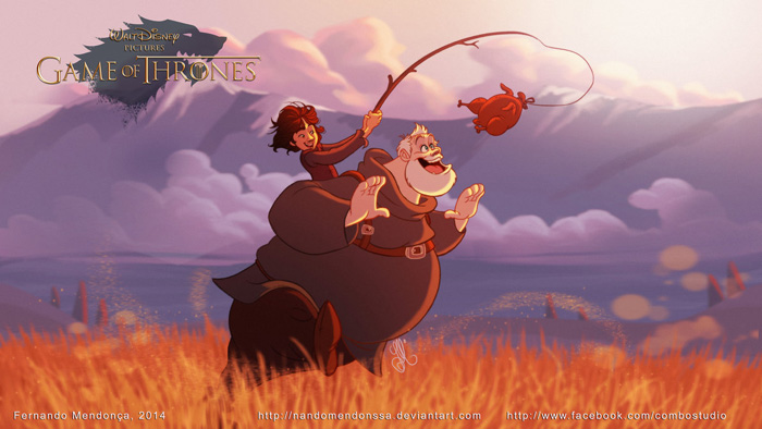 Disney Game of Thrones
