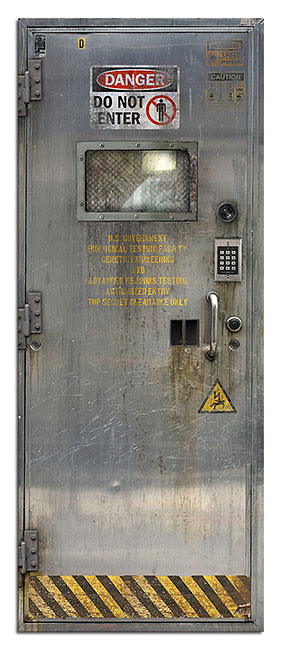 Sci-Fi Door Decals