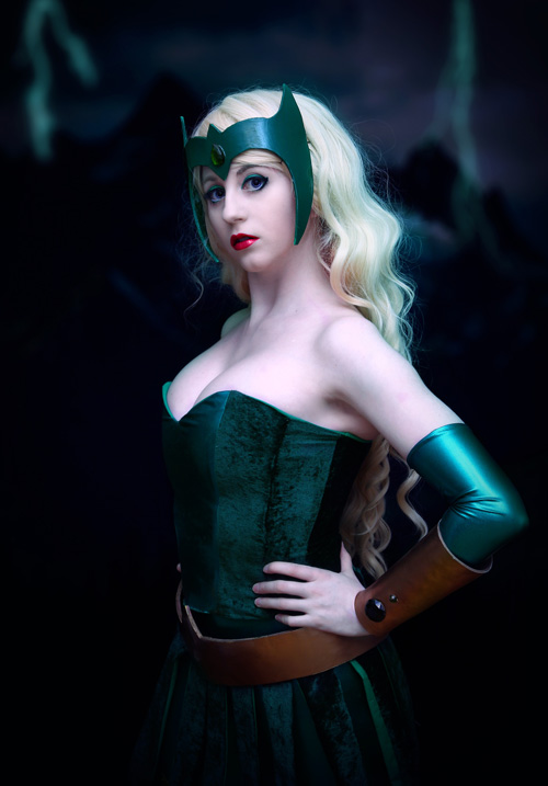 Amora The Enchantress Cosplay