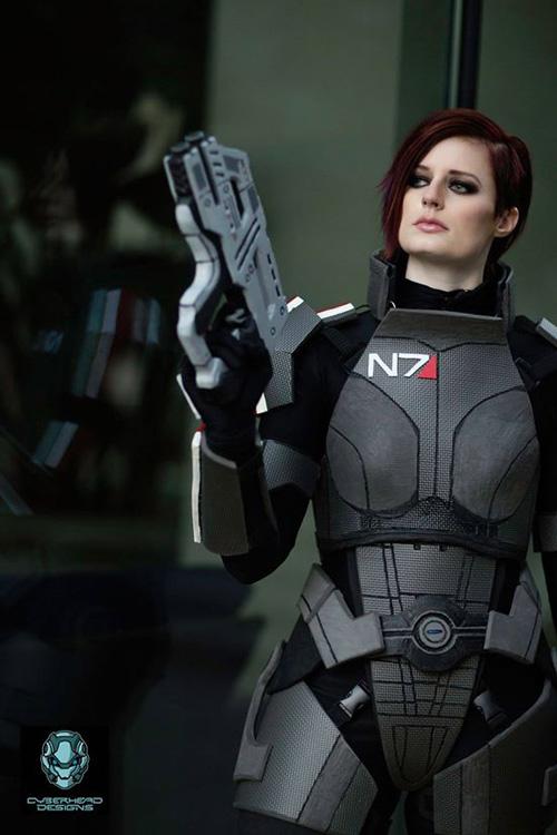 Commander Shepard From Mass Effect Cosplay