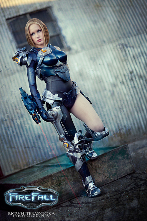 Crystal Graziano, Professional Cosplayer Firefall01
