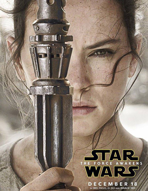 Star Wars: The Force Awakens Character Posters