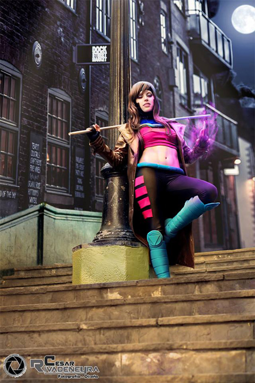 Lady Gambit Cosplay