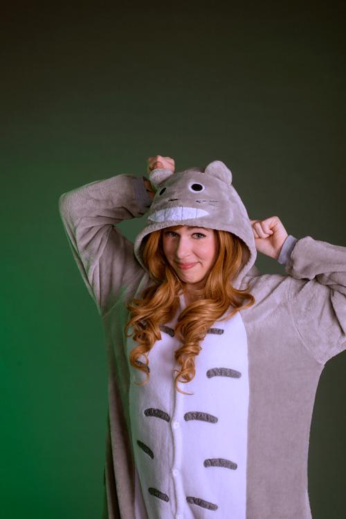 Totoro Kigurumi Photoshoot