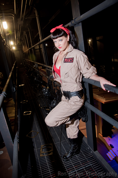 pinup ghostbuster cosplay