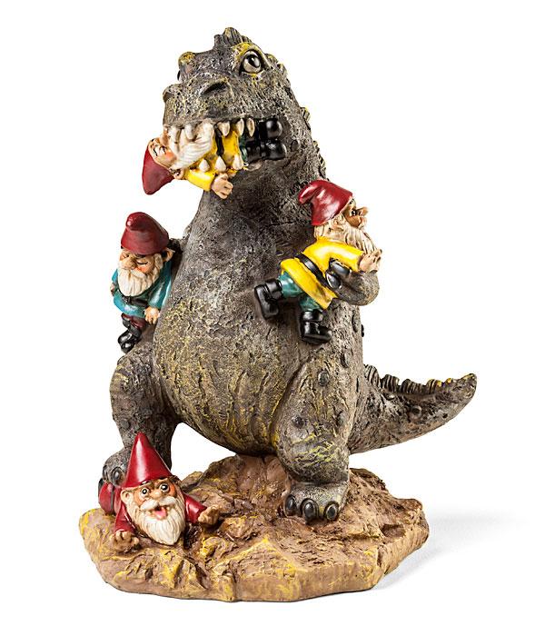 Rampaging Kaiju Garden Gnome