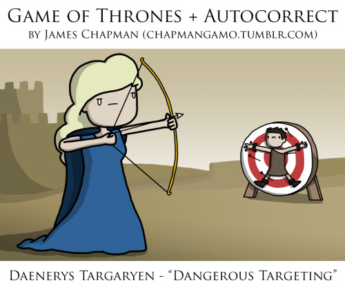 Game of Thrones Autocorrect