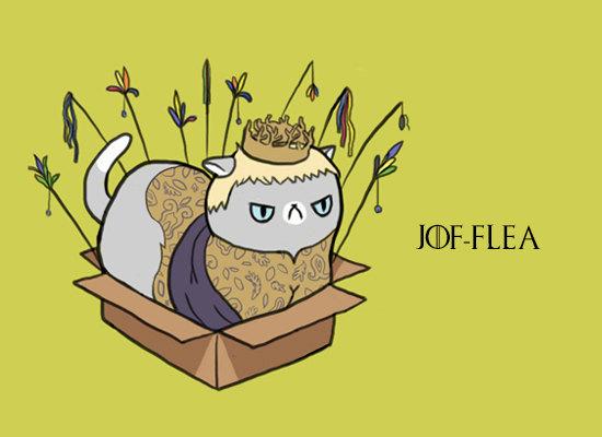 Game of Thrones Cats Fan Art