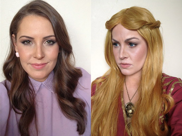Amazing Game of Thrones Makeup Transformations
