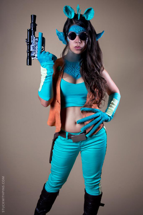What Is Rubber Made Of >> Sexy Greedo Cosplay