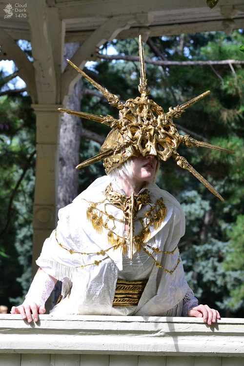 What Is Rubber Made Of >> Dark Sun Gwyndolin from Dark Souls Cosplay