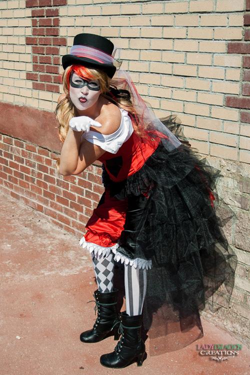 Steampunk / Victorian Harley Quinn Cosplay