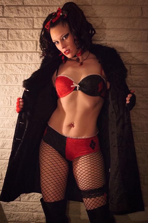 Harley quinn lingerie sexy