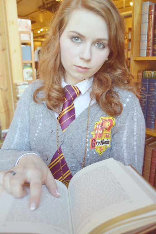 Cosplay hermione granger with huge tits - 1 part 10