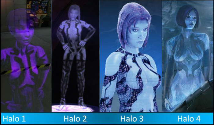 Why Cortana From Halo Is Getting Sexier Fan Theory