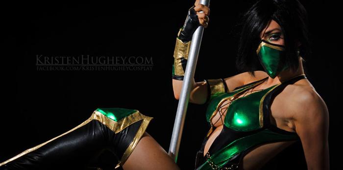 Cosplay Jade Mortal Combat Sislovesme 1