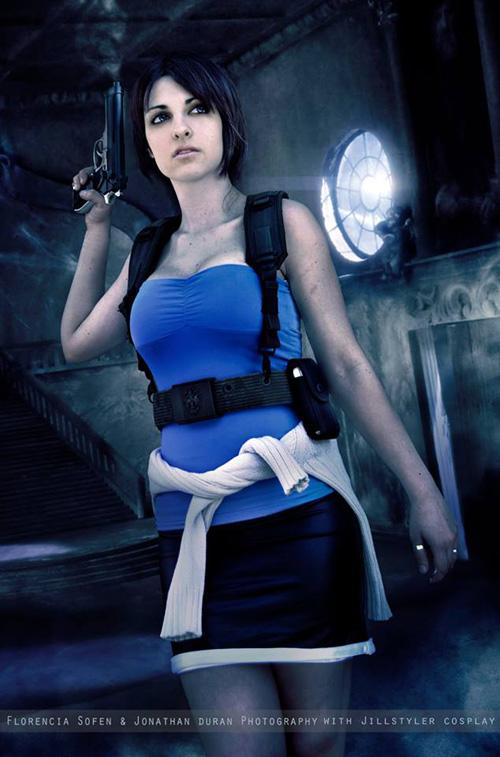 Resident evil jill valentine cosplay
