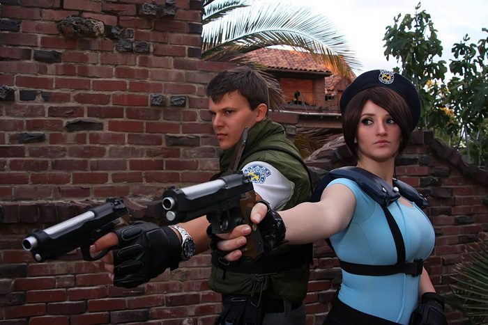 Jill Valentine And Chris Redfield From Resident Evil Cosplay