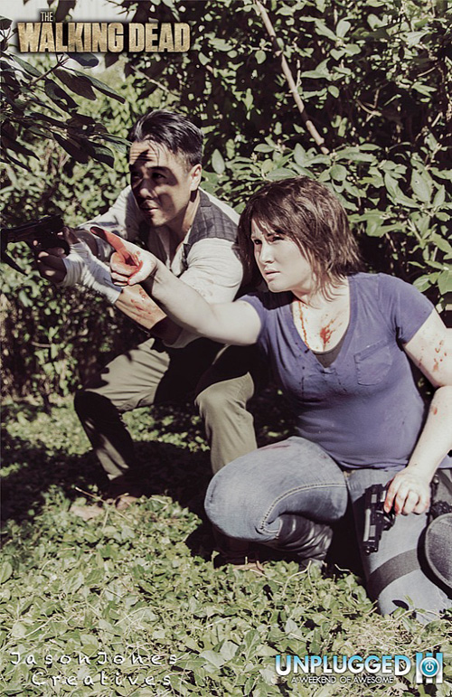 from Walter walking dead maggie and glenn dating in real life