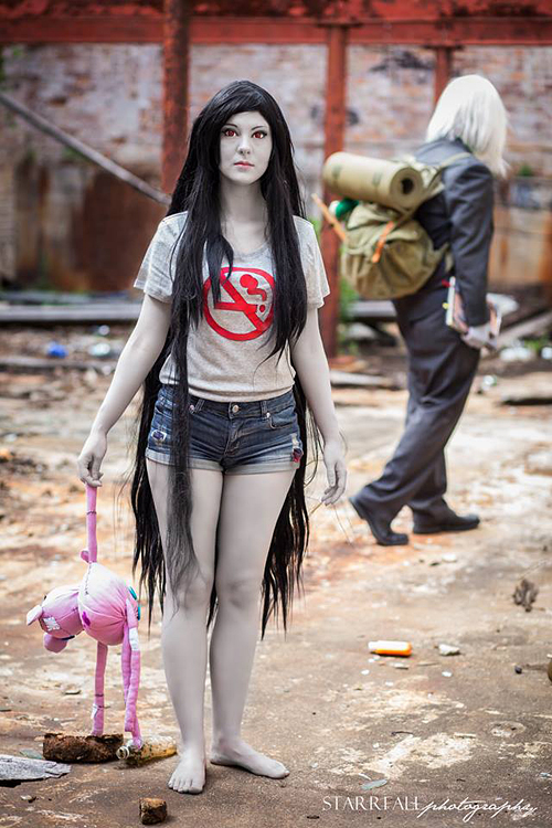 Marceline Amp The Ice King Cosplay