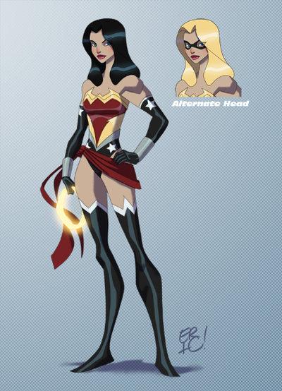Marvel DC Characters Mashup Fan Art