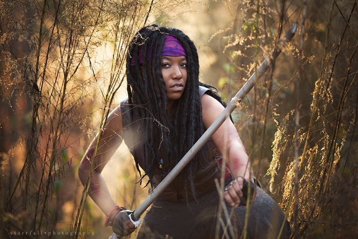Michonne Walking Dead Cosplay