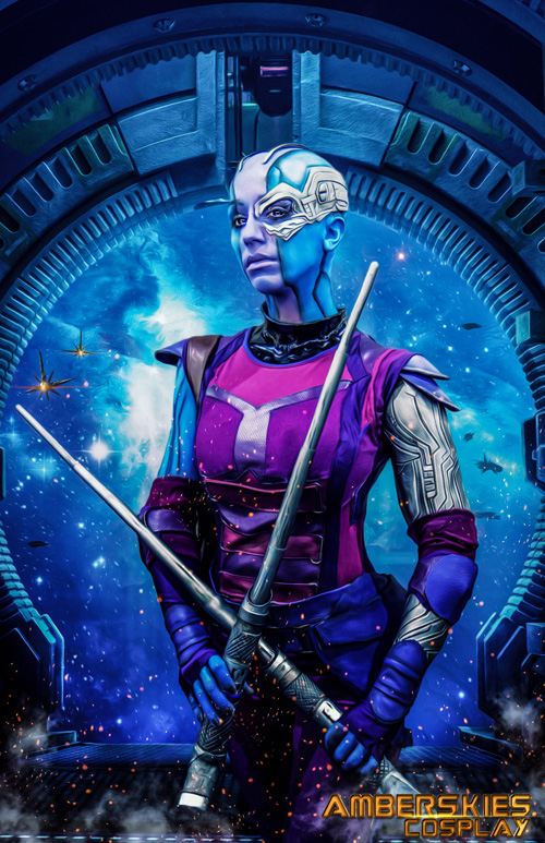 Nebula Amp Gamora From Guardians Of The Galaxy Cosplay