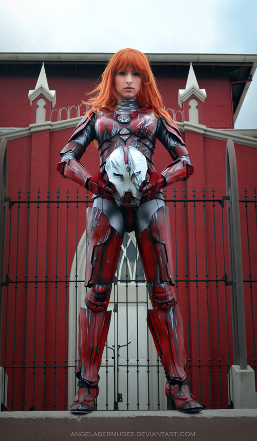 Pepper Potts Armor Cosplay
