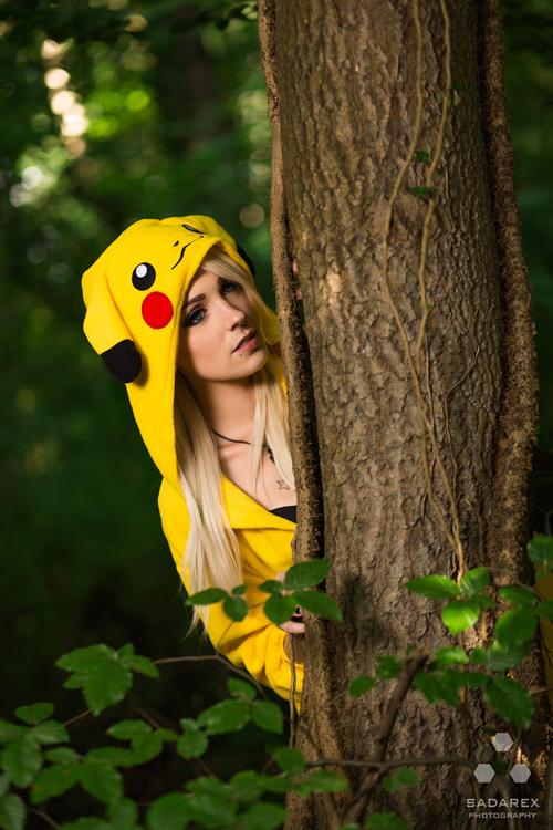 Pikachu Photoshoot