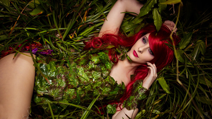 Poison Ivy Cosplay
