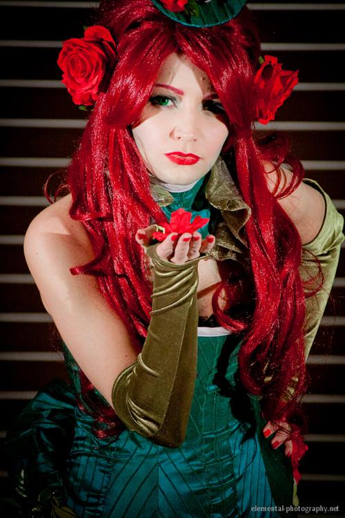 steampunk poison ivy cosplay